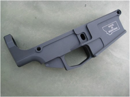 80% .308 ANODIZED LOWER