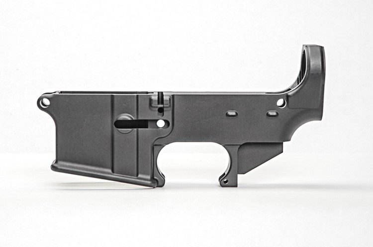 80% AR-15 ANODIZED LOWER